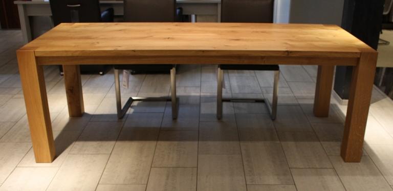 neuer massivholz esstisch zum aktionspreis tendenza m bel m belhaus designm bel n rnberg. Black Bedroom Furniture Sets. Home Design Ideas