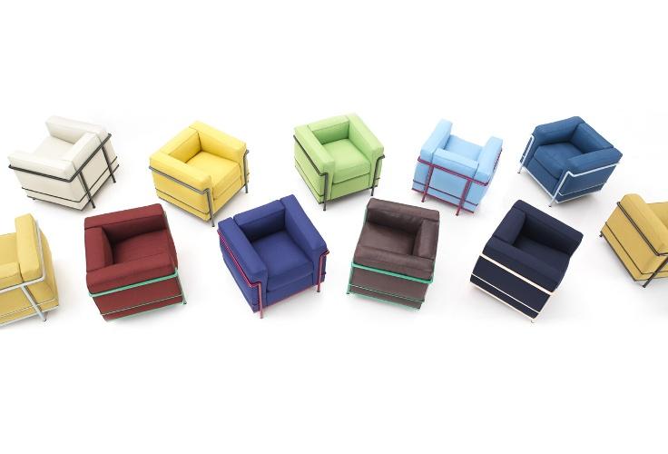 wieder eingetroffen lc serie von lecorbusier von cassina. Black Bedroom Furniture Sets. Home Design Ideas