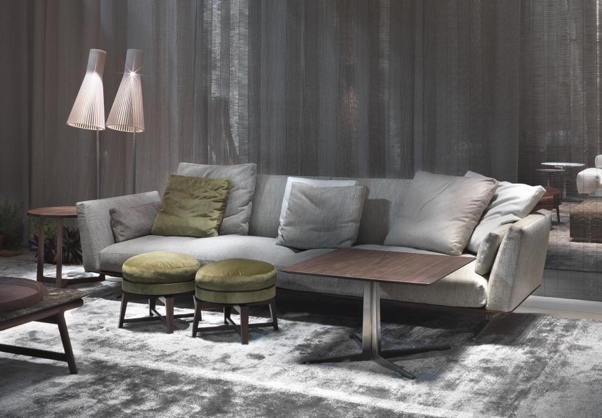 evergreen von flexform zeitlose eleganz und komfort. Black Bedroom Furniture Sets. Home Design Ideas