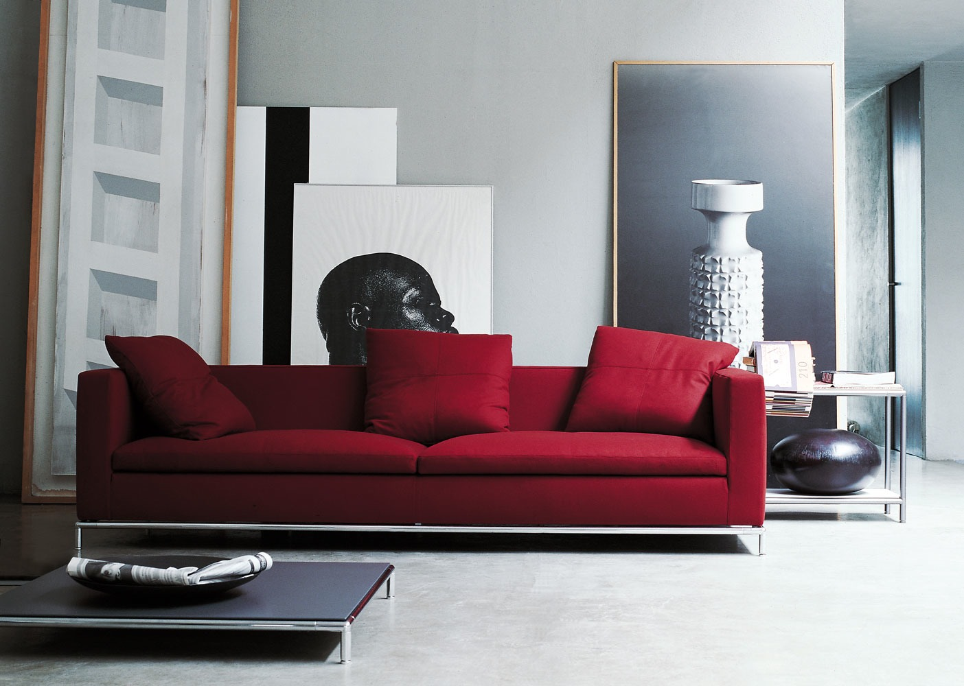 sofa george von b b italia tendenza m bel m belhaus. Black Bedroom Furniture Sets. Home Design Ideas