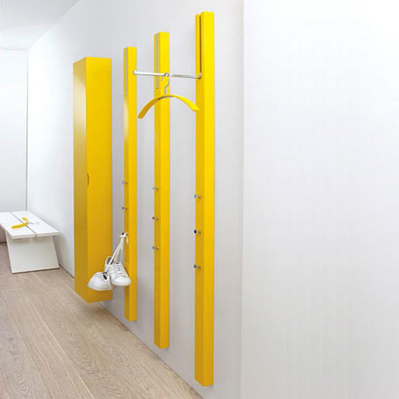 perfekt f r kleine flure garderobe line von schoenbuch im. Black Bedroom Furniture Sets. Home Design Ideas