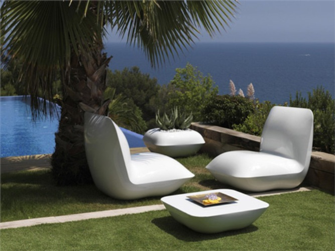 Polyrattan Gartenmobel Zubehor : Außergewöhnlich, Wetterbeständig, Innovativ Gartenmöbel von