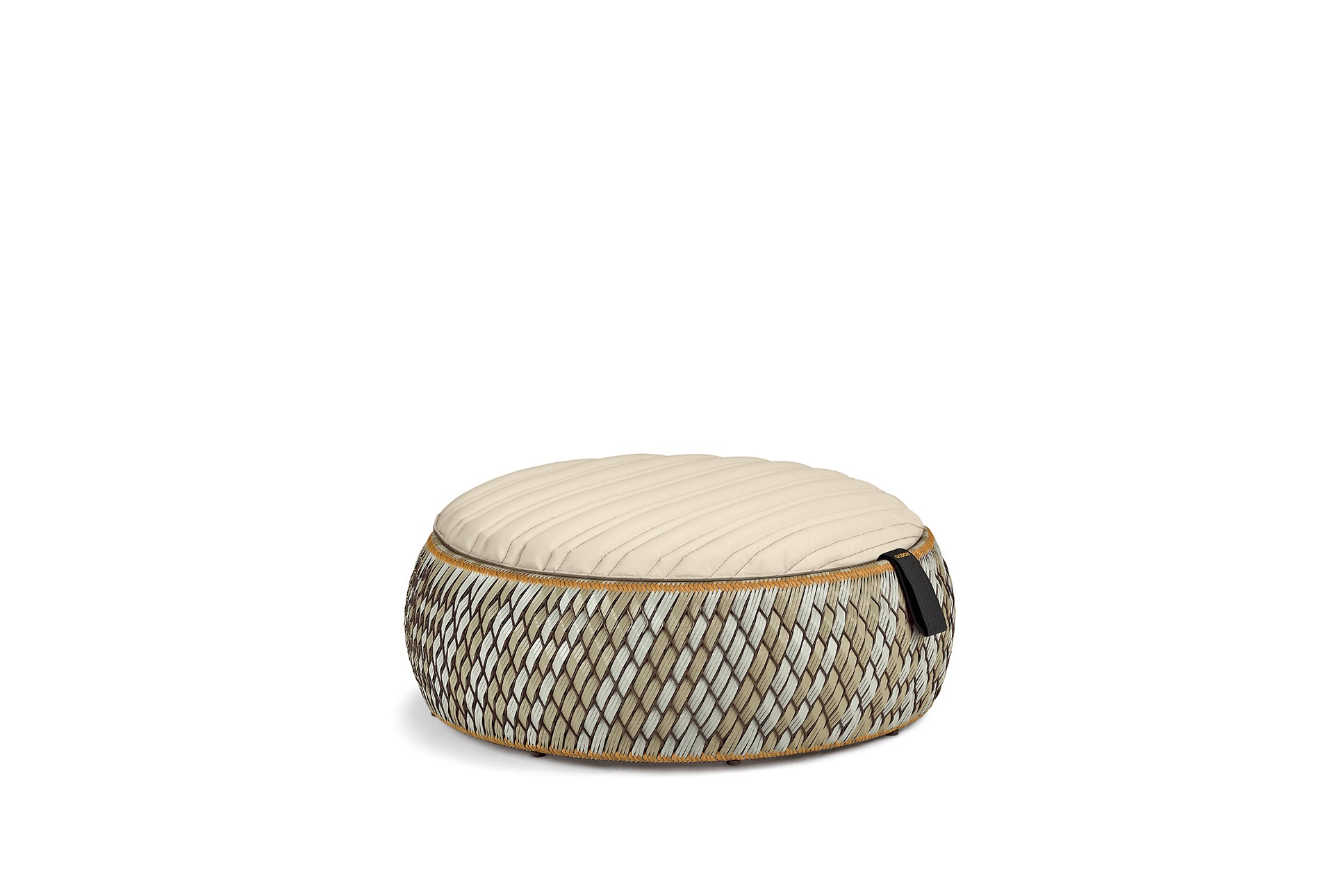 f e hochlegen mit dem hocker dala base von dedon. Black Bedroom Furniture Sets. Home Design Ideas