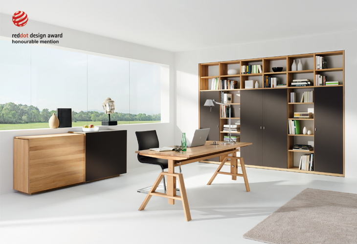 neues von team 7 schreibtisch atelier. Black Bedroom Furniture Sets. Home Design Ideas