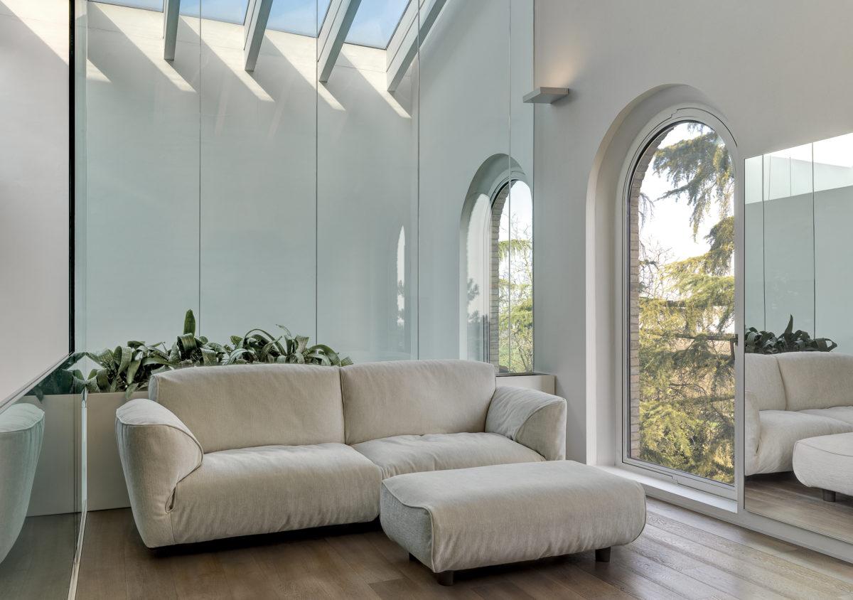 Sofa Grande Soffice Der Firma EDRA