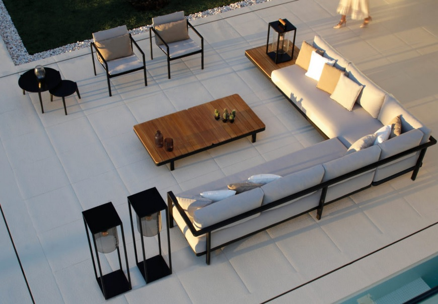 ALURA LOUNGE Kollektion Sofa/Sessel/Tisch/Liegestuhl Der Firma Royal Botania