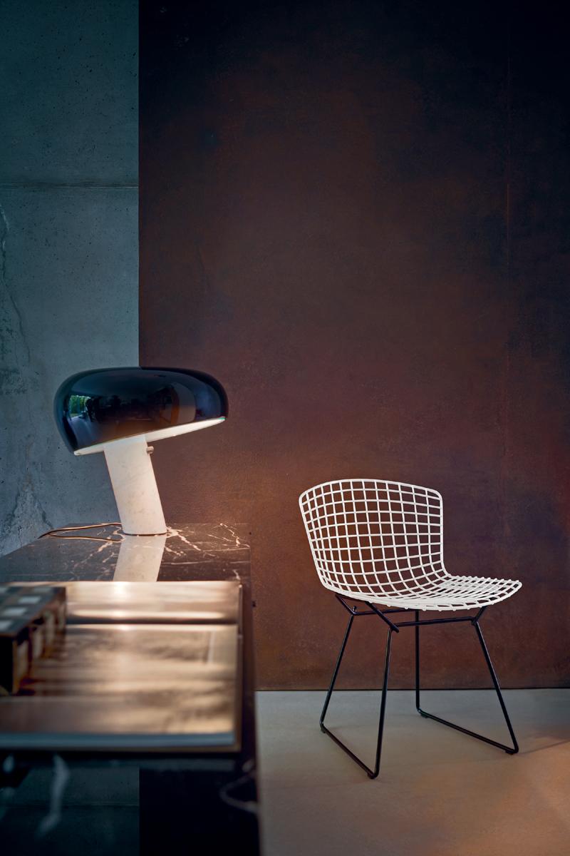 Bertoia Side Stuhl  Der Firma Knoll International