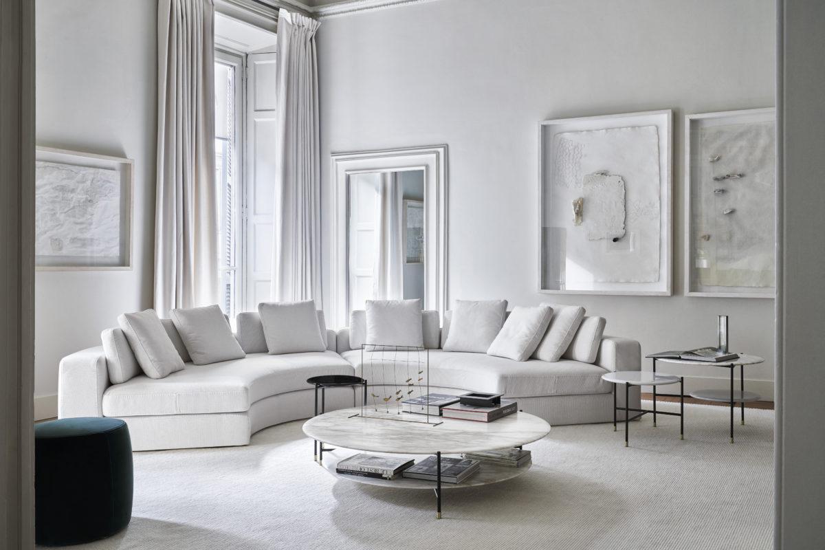 Sofa  FRIEMAN  Der Firma Meridiani