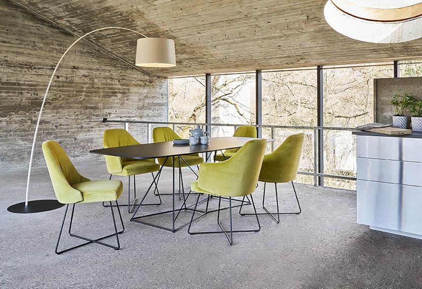 FLOW Kollektion Tisch, Stuhl Der Firma IP Design