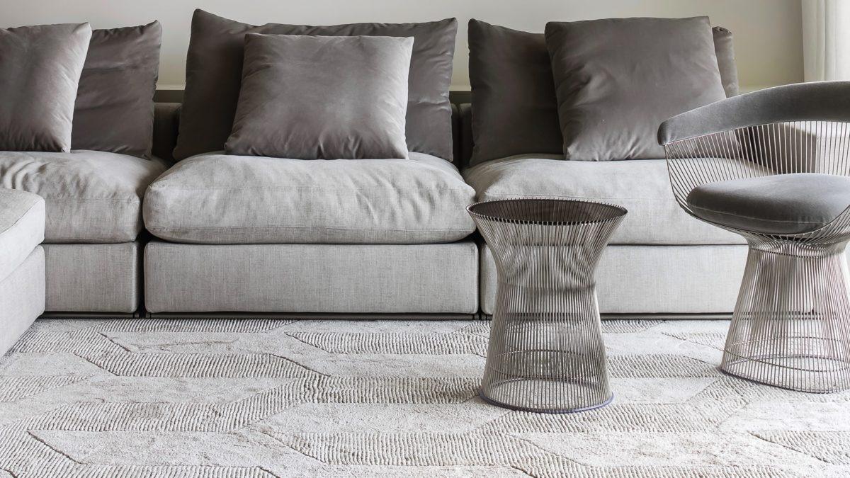 TRAFFIC Teppich Seide+ Wolle Der Firma JOV