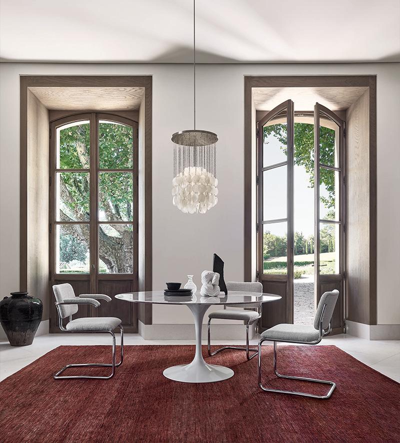 Tisch Saarinen TULIP Der Firma Knoll International