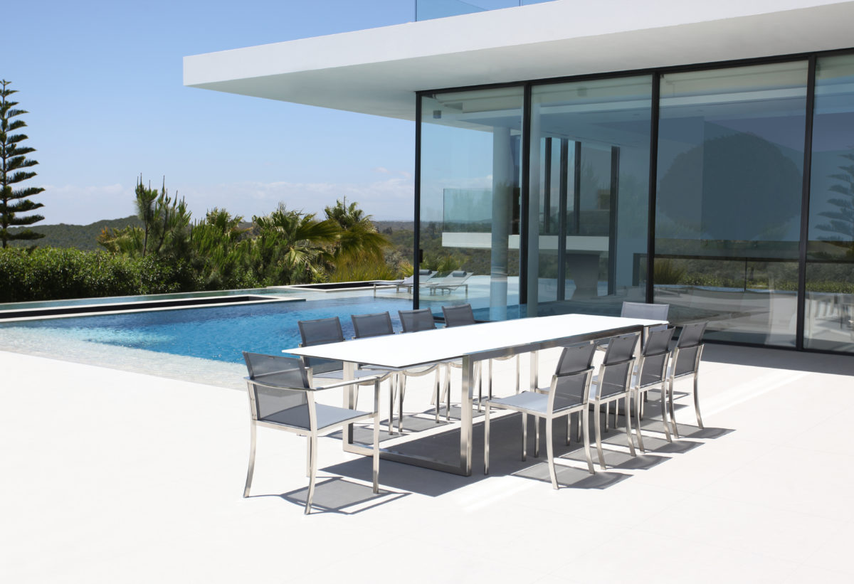 NINIX Tisch/Stuhl Outdoor Der Firma Royal Botania