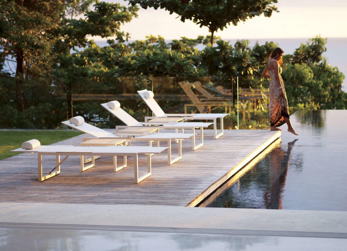 NINIX Liegestühle Sofa/Sessel/Tisch Der Firma Royal Botania