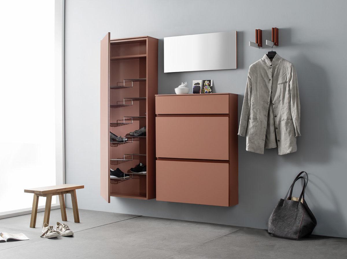 Garderobensystem TANDO Der Firma SUDBROCK
