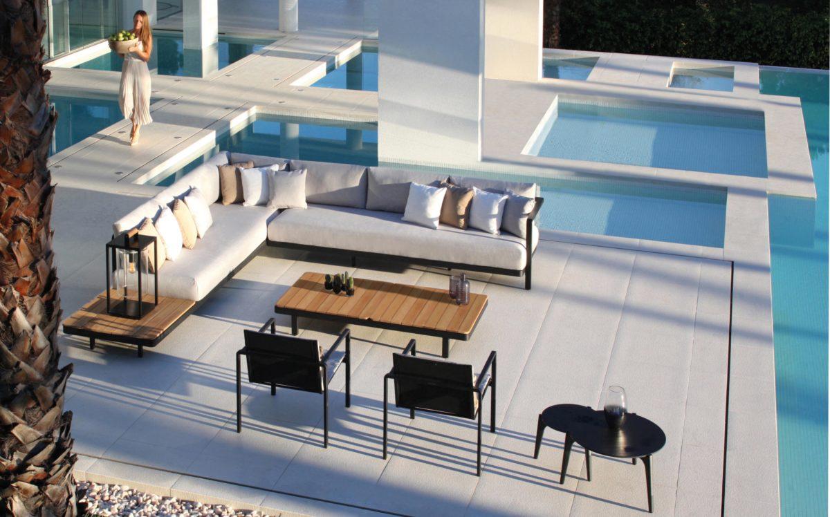 Gartenmöbel Alura Lounge Outdoor Sofa, Stuhl, Sessel, Couchtisch Der Firma Royal Botania