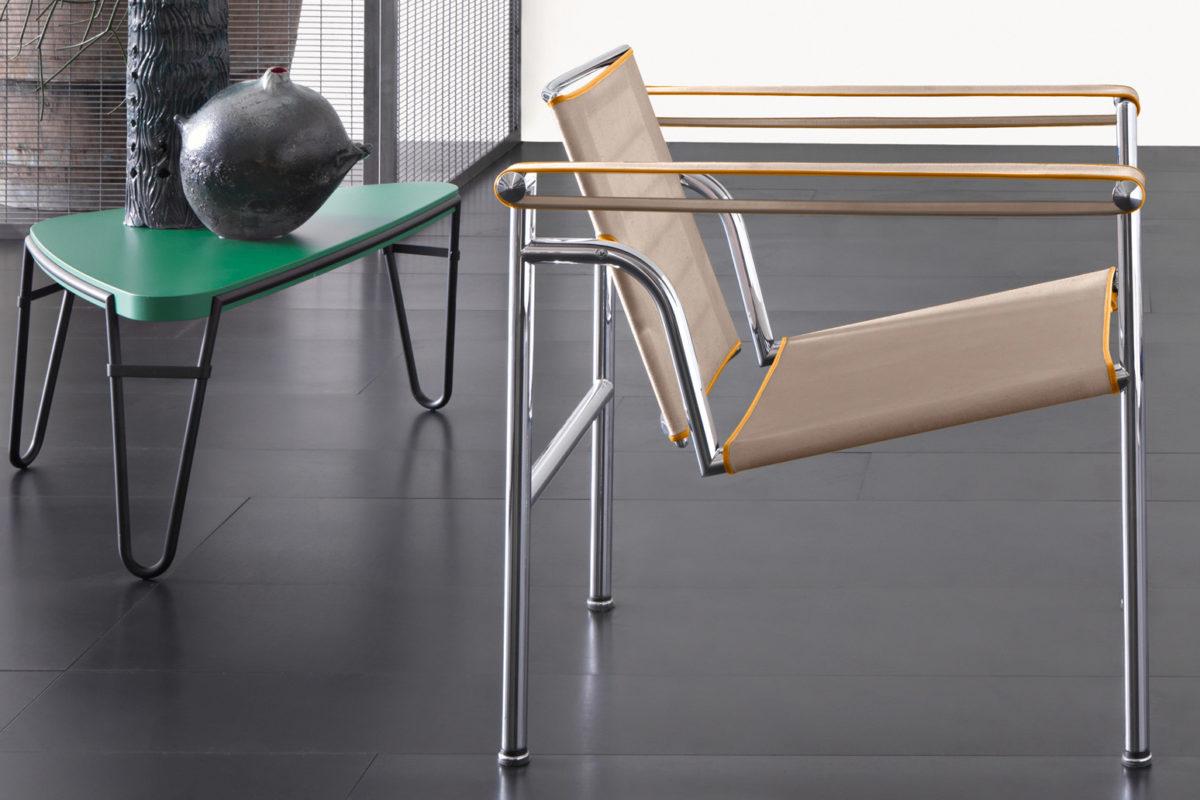 Stuhl LC! Der Firma Cassina