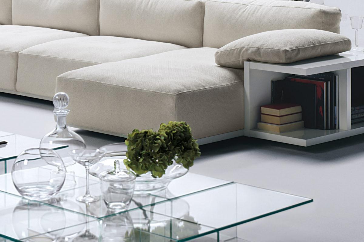 Sofa Mex Cube  Beistelltisch Mex Der Firma Cassina