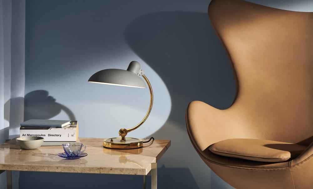 Egg Sessel Tischleuchte von Fritz Hansen