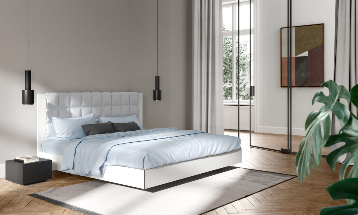 Das Bett IZZI von Interlübke