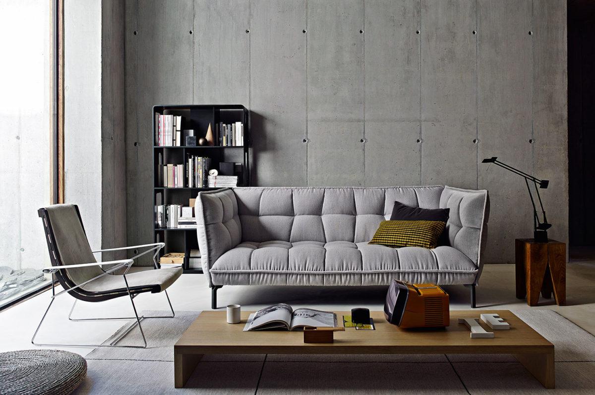 Sofa HUSK von B&B Italia