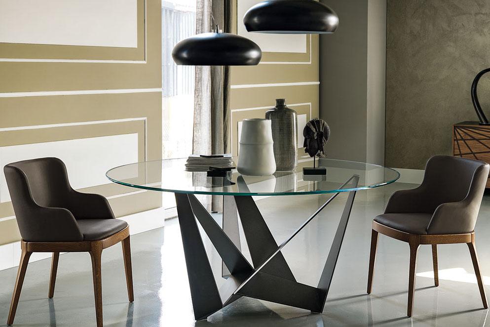 Tisch SKORPIO ROUND Der Firma CATTELAN