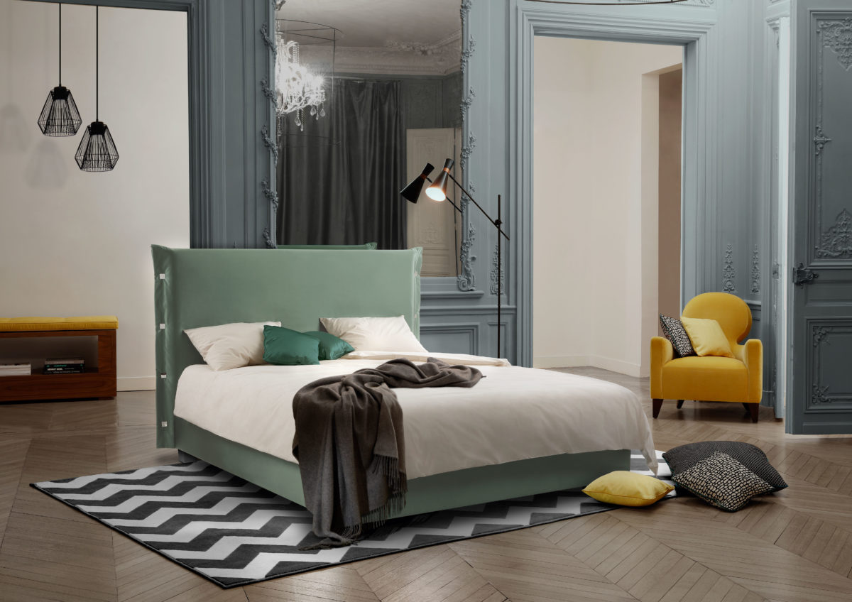 Bett WORLD OF 24 SEVEN Der Firma Treca Interiors Paris